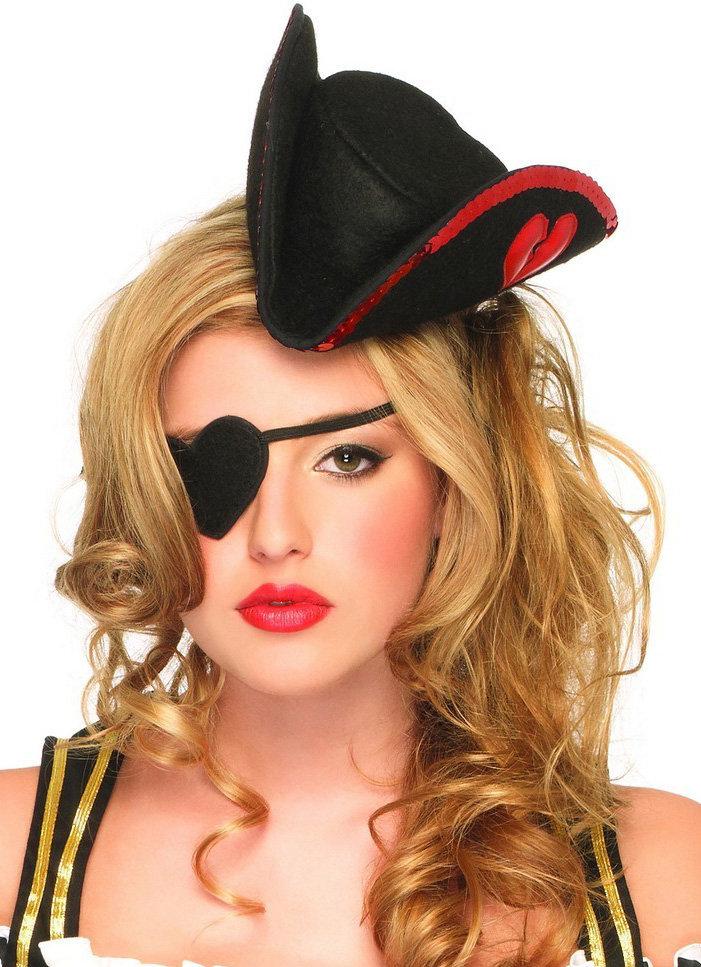 Пиратская повязка на глаз сделать
